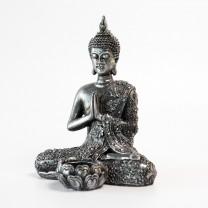 Thailandsk sølvfarvet Buddha