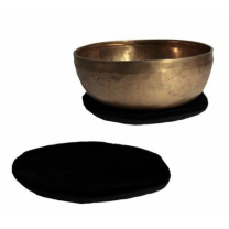 Tæppe til syngeskål - sort - 15 cm