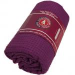 Skridfast yoga håndklæde/underlag bordeauxrød