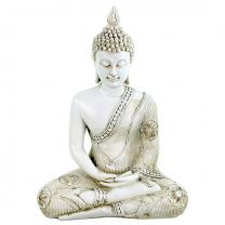 Thailandsk Buddha hvid