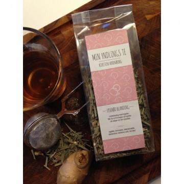 Urte te Lyserød blanding