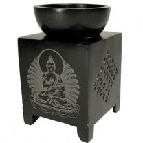Aromalampe med Buddha