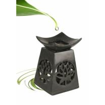 Aromalampe med lotusblomst