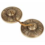 Tingsha meditations klokke 7.2 cm. Om Mani Pad Me Hum