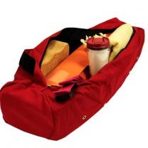 Yogamåtte taske i rød