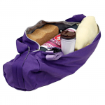Yogamåtte taske i lilla