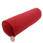 Rund Yoga pude i rød