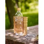 Vandflaske i glas