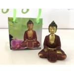Lille Buddha figur i flot gavepose - variant N