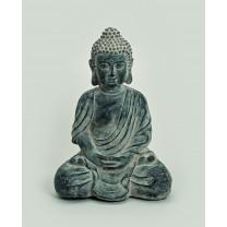 Antik sort Buddha 56 cm.