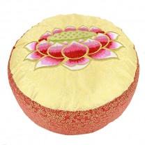 Meditationspude med Lotusblomst