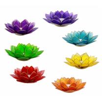 Lotus Chakra Lysestager