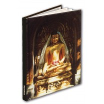 Notesbog med gylden Buddha