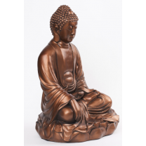 Stor Bronze Buddha 53 cm.