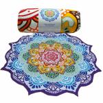 Syv chakra håndklæde / picnic tæppe
