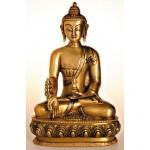 Buddha i ren messing