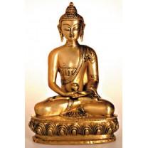 Buddha Amithaba i messing