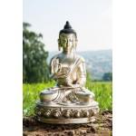 Sølv Buddha