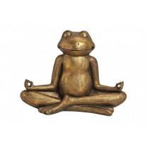 Yoga frø i guld