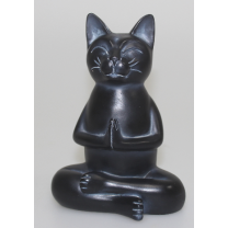 Mediterende kat - i smuk matsort finish