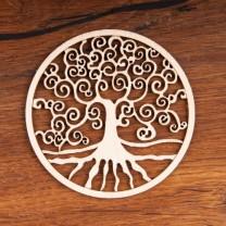 Livets træ i træ