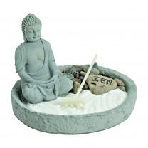 Buddha Zen garden rund