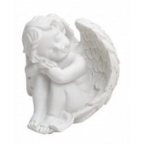 Fredfyldt bedende Engel 12 cm