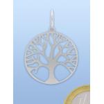 Livets træ vedhæng i sølv