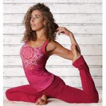 Chakra Yoga top rød