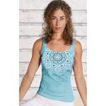 Chakra Yoga top blå