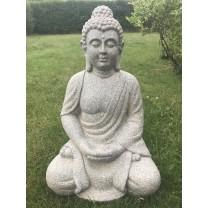 Grå Buddha  68cm