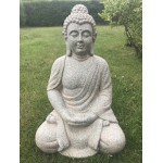 Grå Buddha  62cm