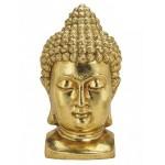 Buddha hoved i guld