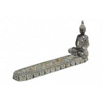 Røgelsesholder med Buddha
