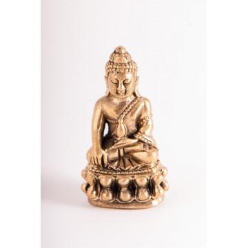 Mini Buddha i messing