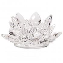Lotus krystal Lysestage small