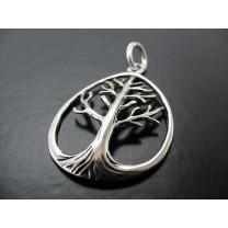 Dråbeformet Livets træ vedhæng