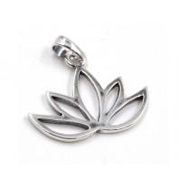 Enkelt lotus vedhæng