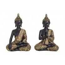 2 Stk Thailandsk Buddha