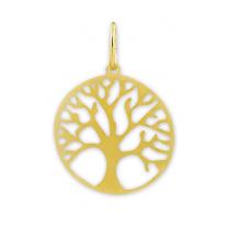 Lille livets træ vedhæng i Guld