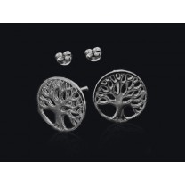 Livets træ øreringe
