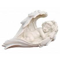 Sovende Engel i vinge