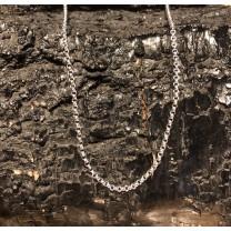 Anker Sølv Halskæde 45 cm