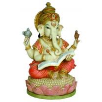 Ganesh 17 cm: Writing Mahabharata