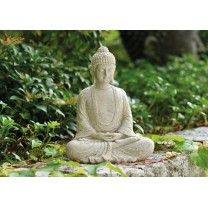 Buddhafigur mediterende 23 cm