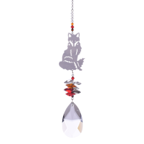 Swarovski Krystal Ræv