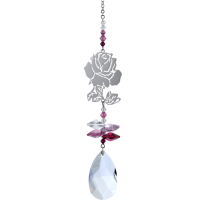 Swarovski Krystal Rose - small