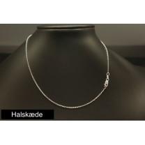 Halskæde sølv 45 cm Anker