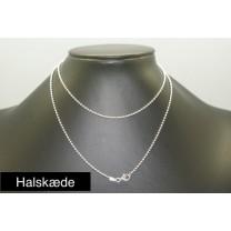 Kugle Halskæde sølv 70 cm