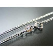 Halskæde i sølv 50 cm